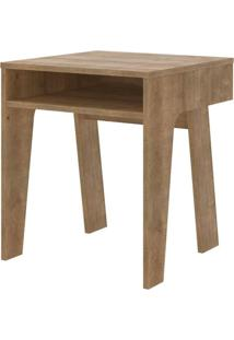 Mesa Lateral Mood Em Mdp Cor Vermont 45 Cm (Larg) - 47964 - Sun House