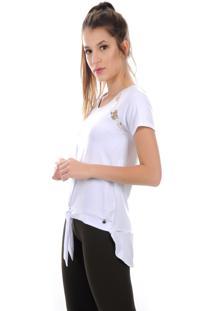 Camiseta Manga Curta Pinyx Dots Branco