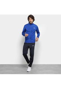 Agasalho Adidas Mts Basics Masculino - Masculino-Azul+Branco