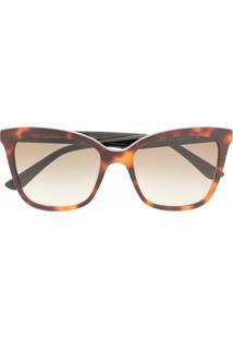 Karl Lagerfeld Óculos De Sol Ikonik - Marrom