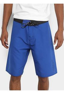 Bermuda D'Água Calvin Klein Básica Masculina - Masculino-Azul