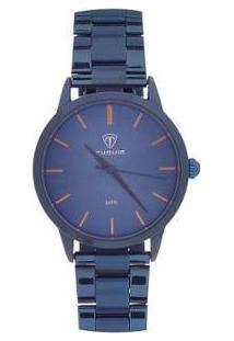 Relógio Feminino Tuguir Analógico - Feminino-Azul