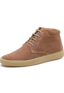 Bota Cano Curto Over Boots Desert Boot Camurça Ferrugem