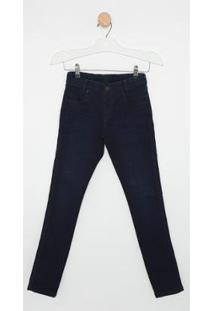 Calça Jeans Infantil Express Eurico Masculina - Masculino-Azul