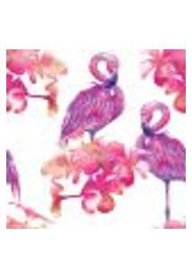 Papel De Parede Adesivo - Flamingos - 032Pps