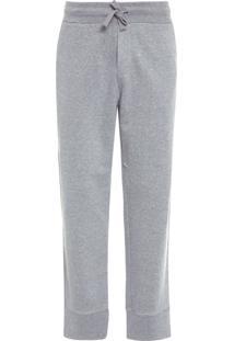Calça Masculina E-Basics Jogging Fleece - Cinza