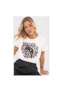 Camiseta Forum Savage Attitude Off-White