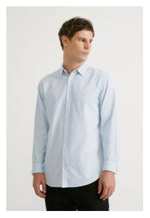 Camisa Ml Oxford Verao