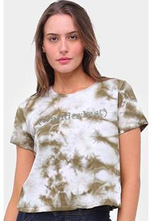 Camiseta Lecimar Tie Dye Wanderlust Feminina - Feminino