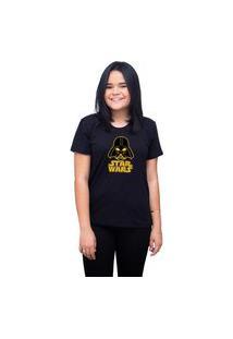 Camiseta T-Shirt Personalizado Star Wars - Preta
