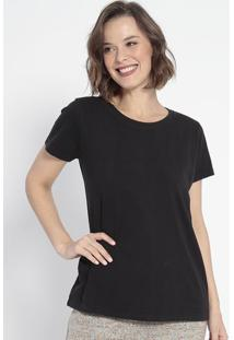 Camiseta Lisa- Preta- Johnny Djohnny D.
