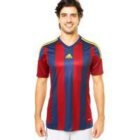 32ab2975ee7 Camisa Adidas Performance Striped 15 Multicolorida