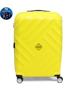 Mala American Tourister By Samsonite Mikonos Spinner 24 - Masculino-Amarelo