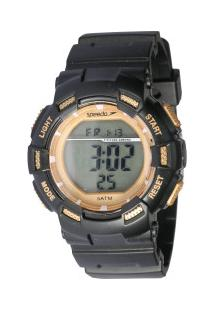 Relógio Digital Speedo 81168L0 - Feminino - Preto/Ouro