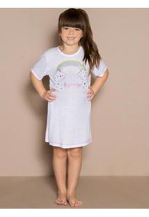 Camisola Infantil Arco-Íris Branco Laibel
