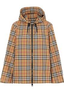 Burberry Vintage Check Hooded Jacket - Neutro