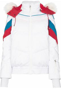 Sweaty Betty Jaqueta Ski Matelassê - Branco