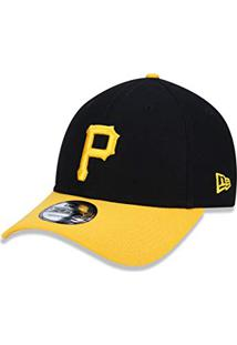 Bone 940 Pittsburgh Pirates Mlb Aba Curva Snapback Preto New Era 5981cc9d6aa