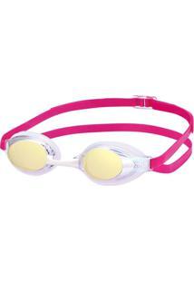Óculos Natação Sr-3M Lente Cristal Espelhada Único Swans