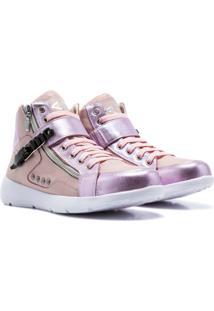 Sneaker K3 Fitness Up Rosa - Rosa - Feminino - Dafiti