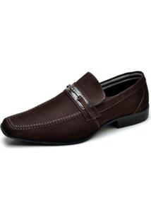 Sapato Social Couro Reta Oposta Masculino - Masculino