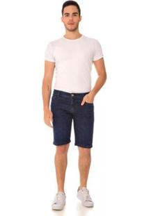 Bermuda Jeans Express Kinder Masculina - Masculino-Azul