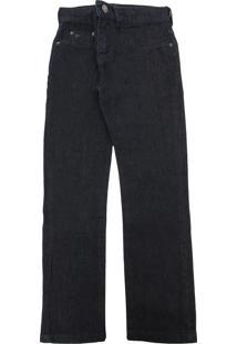 Calça Jeans Vr Kids Menino Lisa Preta