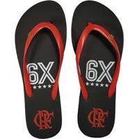 Chinelo Flamengo Feminino Slim 6X Crf - Feminino 0a0ebe3014d98