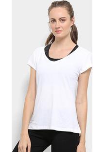 Camiseta Fila Bio Coat I Feminina - Feminino-Branco