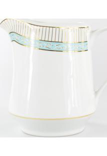 Leiteira Porcelana Schmidt - Dec. Audrey