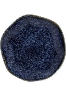 Conjunto 6 Pratos Sobremesa Oxford 92426 Ryo Safira 21,5Cm Azul