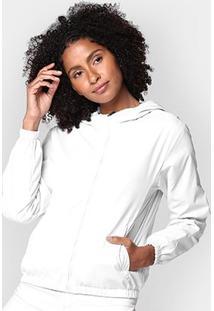 Jaqueta Miose Dupla Face Capuz Feminina - Feminino-Off White