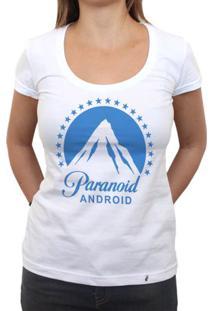Paranoid Android - Camiseta Clássica Feminina