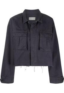 Boyish Denim The Camden Cropped Jacket - Azul