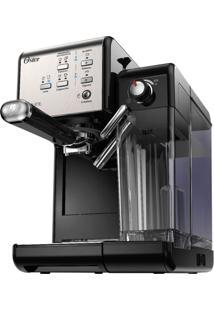 Cafeteira Oster Primalatte Evolution 127V Prata E Preta 1170W E 19 Ba