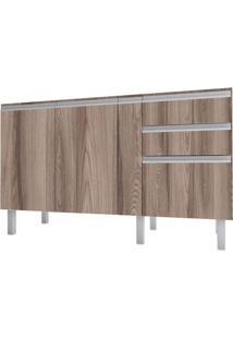 Gabinete Para Cozinha 150Cm Mdf Tupã Tamarindo 144X88X52Cm - Cozimax - Cozimax
