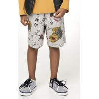 43d2390035ef3a Bermuda Para Menino Elastico Tradicional infantil   Shoes4you