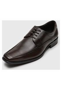 Sapato Social Democrata Hampton Marrom