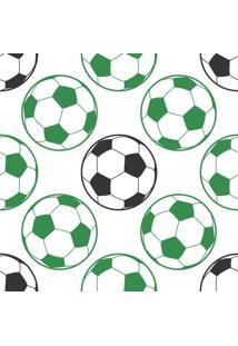 Papel De Parede Adesivo Bola De Futebol (0,58M X 2,50M)