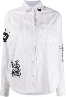 Zadig&Voltaire Tais Raye Striped Shirt - Neutro