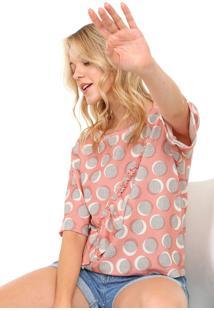 Camiseta My Favorite Thing(S) Babados Rosa