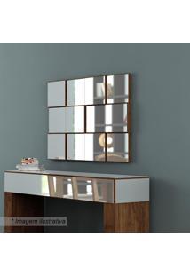 Painel Decorativo Quadriculado- Nobre- 75X100X5Cmdalla Costa