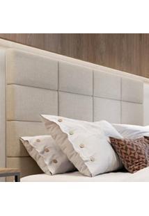 Cabeceira Oggi Painel Em Madeira Tecido Com Costura Gomada Madeira Design Atemporal E Moderno Casa A Móveis