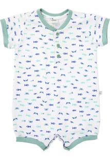 Pijama Lápis De Cor Estampado Branco