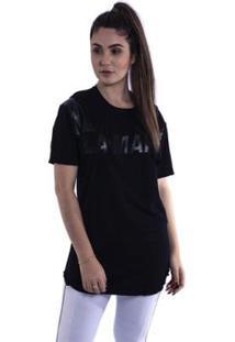 Camiseta Feminina Alongada Labellamfia - Feminino