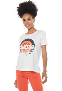 Camiseta Cantão Invertido Branca