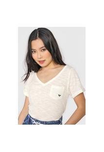 Camiseta Roxy Sun Off-White