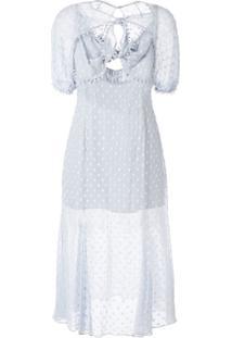 Alice Mccall Moon Talking Midi Dress - Azul