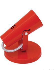 Spot Focus Para 1 Lâmpada E27 Vermelho Auremar