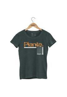 Camiseta Forseti Estonada Plante Verde